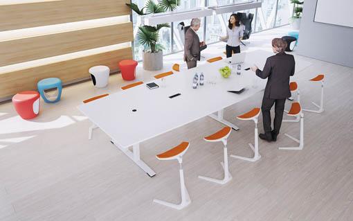 moderner Konferenztisch